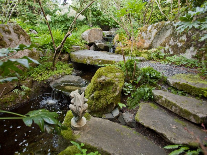 Garden 1 water fall stream